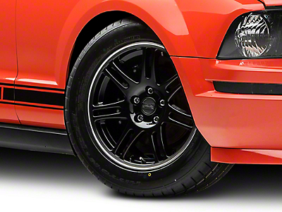 10th Anniversary Cobra Black Wheel - 17x9 (05-14 GT, V6)