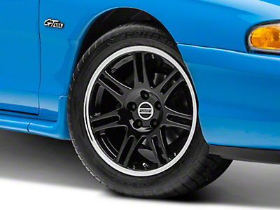 Black 10th Anniversary Cobra Style Wheel - 17x9 (94-04 All)