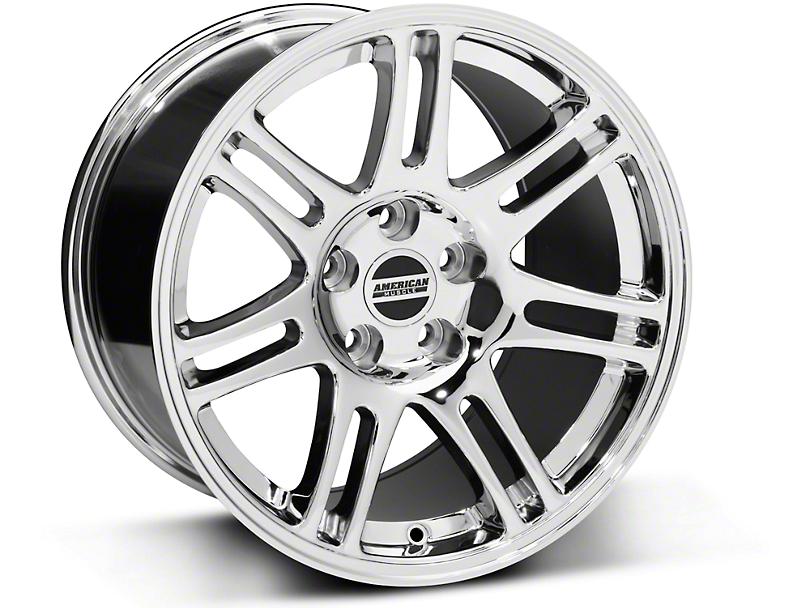 10th Anniversary Cobra Style Chrome Wheel - 17x10.5 (94-04 All)