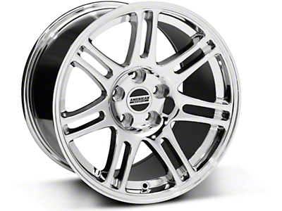 10th Anniversary Style Cobra Chrome Wheel - 17x10.5 (94-04 All)
