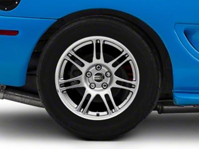10th Anniversary Cobra Style Anthracite Wheel - 17x10.5 (94-04 All)