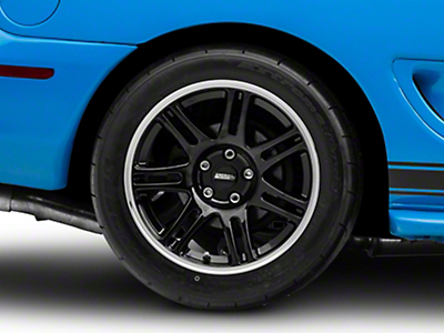 Black 10th Anniversary Cobra Style Wheel - 17x10.5 (94-04 All)