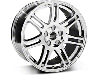 10th Anniversary Style Cobra Chrome Wheel - 18x9 (05-14 All)