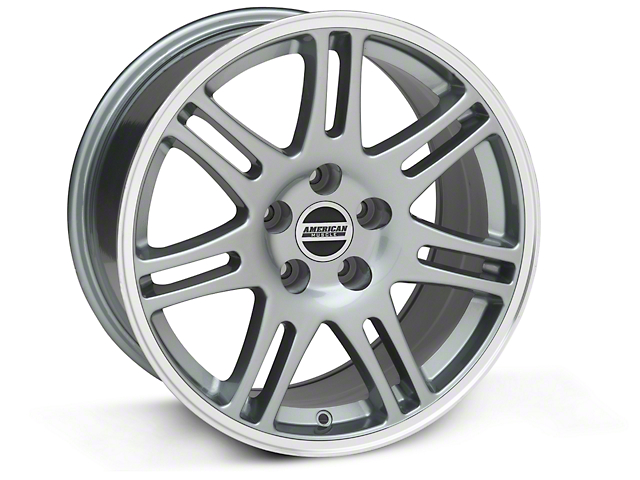 10th Anniversary Cobra Style Anthracite Wheel - 18x9 (05-14 All)