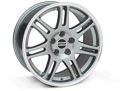 10th Anniversary Cobra Style Anthracite Wheel - 18x9 (94-04 All)