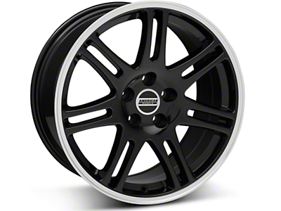 Black 10th Anniversary Cobra Style Wheel - 18x9 (05-14 All)