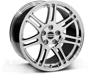 Chrome 10th Anniversary Cobra Style Wheel - 18x10 (94-04 All)