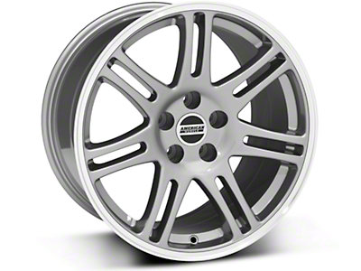 10th Anniversary Cobra Anthracite Wheel - 18x10 (94-04 All)
