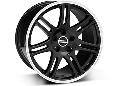 Black 10th Anniversary Cobra Style Wheel - 18x10 (94-04 All)