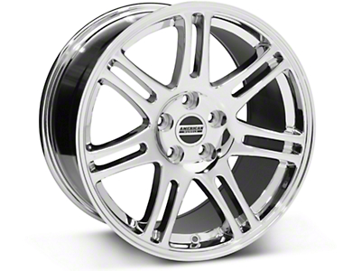 Chrome 10th Anniversary Cobra Style Wheel - 18x10 (05-14 All)