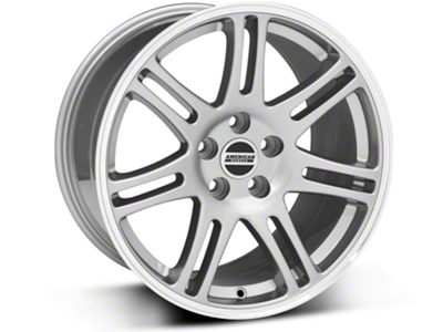 10th Anniversary Cobra Style Anthracite Wheel - 18x10 (05-14 All)