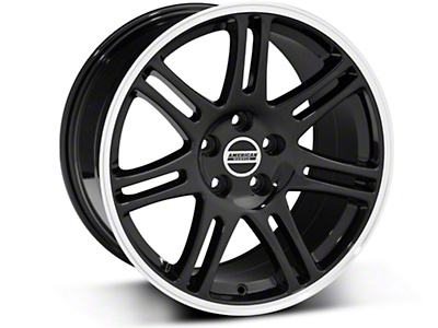 Black 10th Anniversary Cobra Style Wheel - 18x10 (05-14 All)