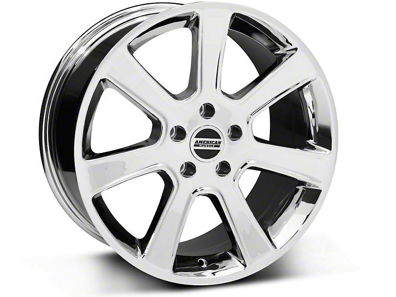 S197 Saleen Style Chrome Wheel - 18x9 (05-14 All)