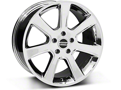 S197 Saleen Style Chrome Wheel - 18x9 (87-93 5 Lug Conversion)
