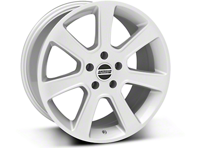 S197 Saleen Style Silver Wheel - 18x9 (87-93 5 Lug Conversion)