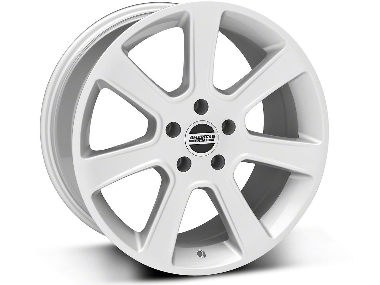 S197 Saleen Silver Wheel - 18x9 (87-93 5 Lug Conversion)