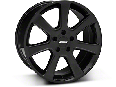 S197 Saleen Style Black Wheel - 18x9 (87-93 5 Lug Conversion)
