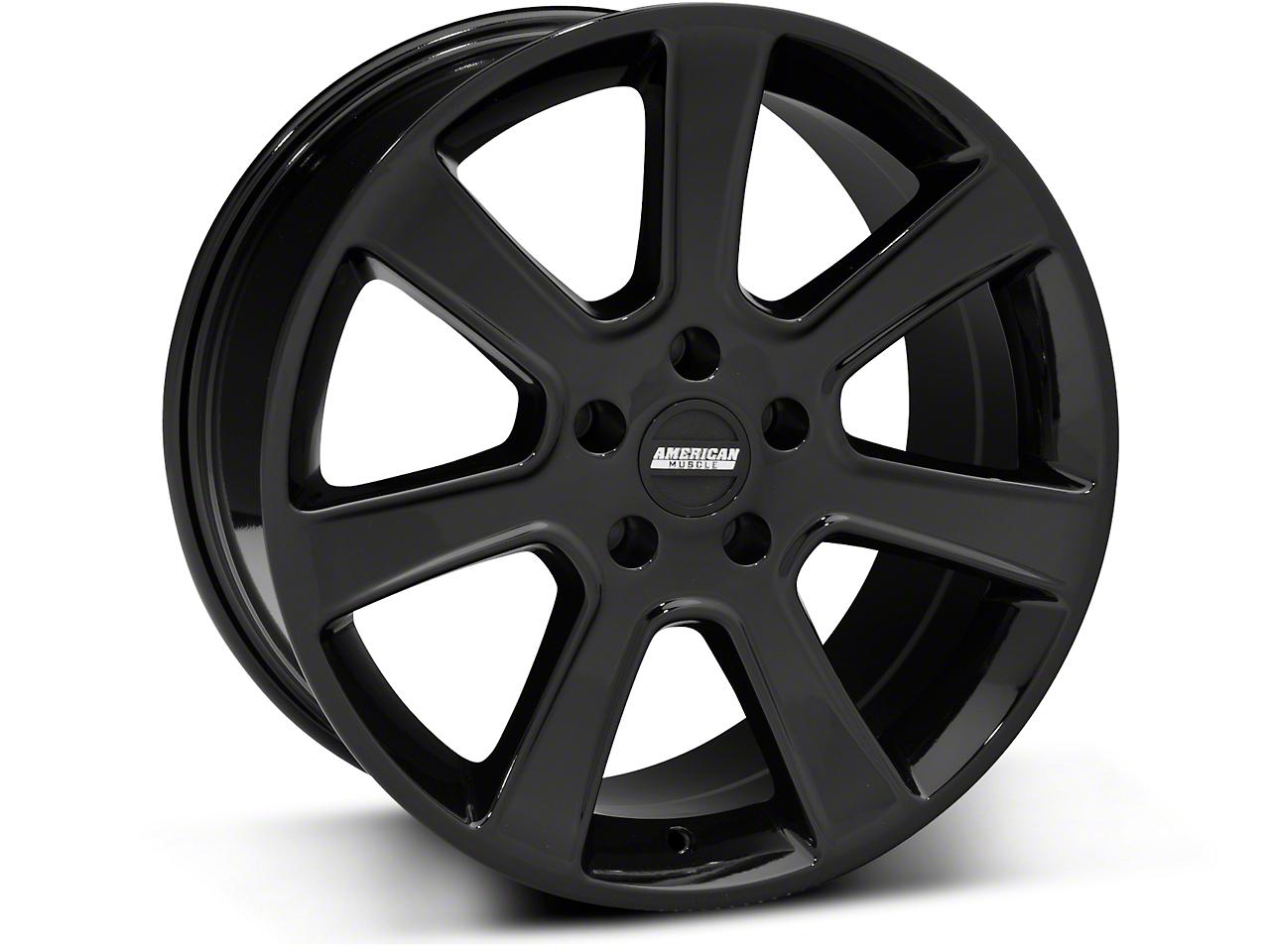 S197 Saleen Style Black Wheel - 18x9 (94-04 All)