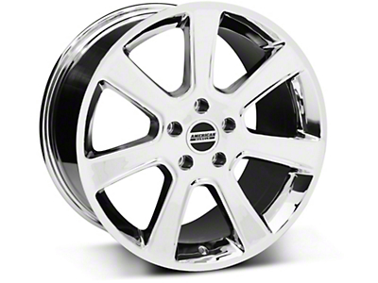 S197 Saleen Style Chrome Wheel - 18x10 (05-14 All)