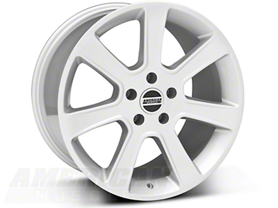 Silver S197 Saleen Style Wheel 18x10 (05-14 All)