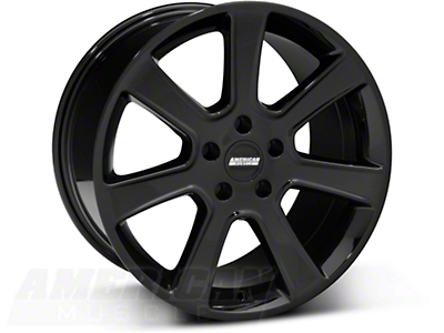Black S197 Saleen Style Wheel 18x10 (05-14 All)