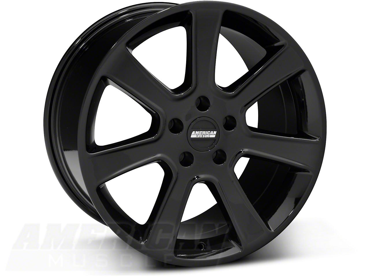 S197 Saleen Black Wheel - 18x10 (05-14 All)