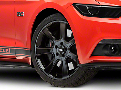 S197 Saleen Style Black Wheel - 20x9 (15-16 All)