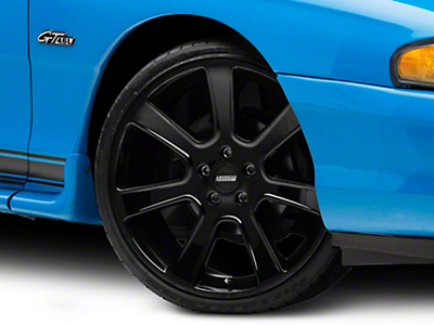 Black S197 Saleen Style Wheel 20x9 (94-04 All)