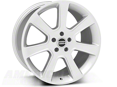 Silver S197 Saleen Style Wheel 20x10 (05-14 All)