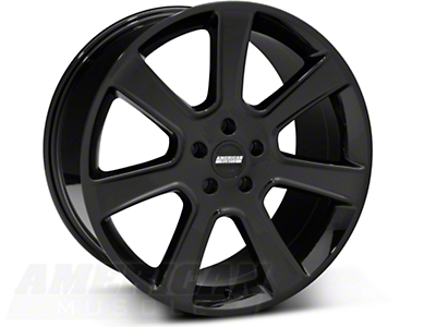 Black S197 Saleen Style Wheel 20x10 (05-14 All)