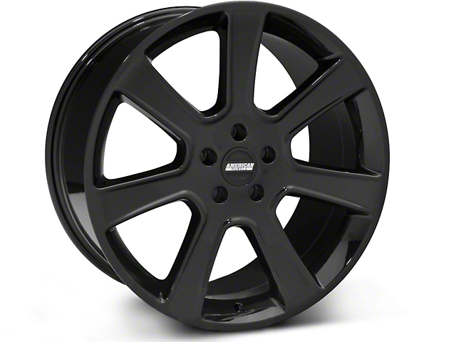 S197 Saleen Style Black Wheel - 20x10 (05-14 All)