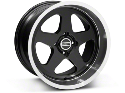 SC Style Black Wheel - 17x10 (87-93; Excludes 93 Cobra)
