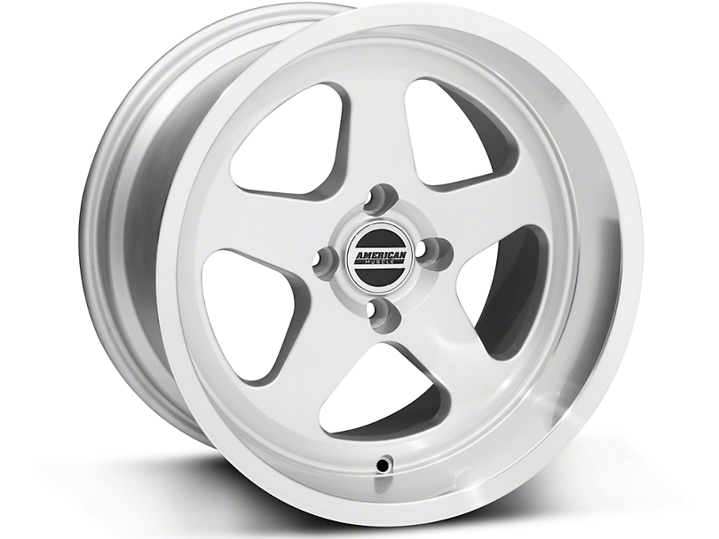 SC Style Silver Wheel - 17x10 (87-93; Excludes 93 Cobra)