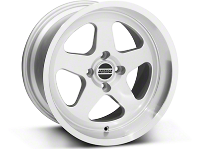 Silver SC Style Wheel - 17x10 (87-93; Excludes 93 Cobra)