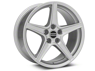 Saleen Style Silver Wheel - 18x9 (94-04 All)
