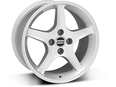 1995 Cobra R Style Silver Wheel - 17x9 (87-93; Excludes 93 Cobra)