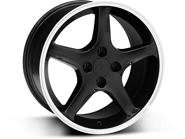1995 Cobra R Style Black Wheel - 17x9 (87-93; Excludes 93 Cobra)