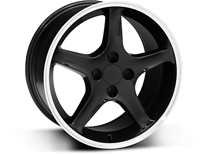 Black 1995 Style Cobra R Wheel - 17x9 (87-93; Excludes 93 Cobra)