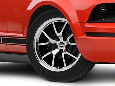 FR500 Style Black Machined Wheel - 18x9 (05-14 All)