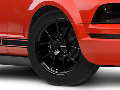 FR500 Style Solid Black Wheel - 18x9 (05-14 All)