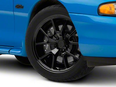 Add FR500 Style Solid Black Wheel - 18x9