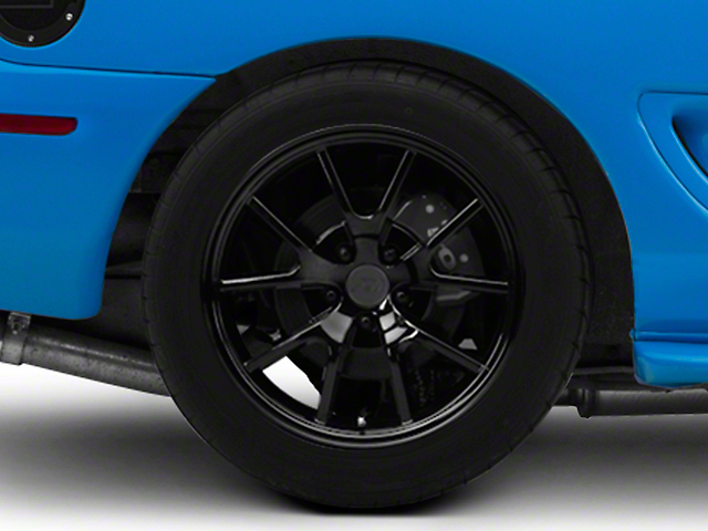 FR500 Style Solid Black Wheel - 18x10 (94-04 All)