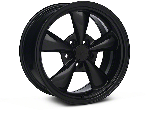 Bullitt Solid Black Wheel - 17x9 (87-93 5 Lug Conversion)
