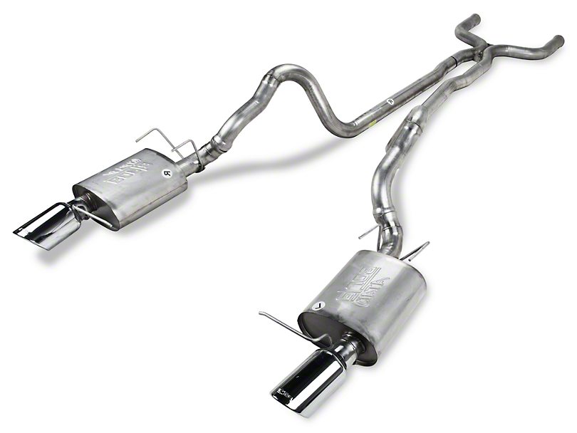 Borla Stinger S-Type Cat-Back Exhaust (13-14 GT, BOSS)