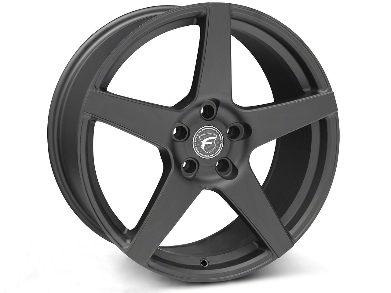 Forgestar CF5 Monoblock Matte Black Wheel - 19x9 (05-14 All)