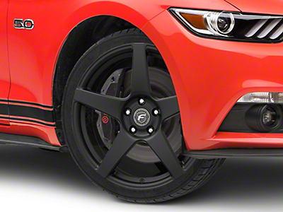 Forgestar CF5 Monoblock Matte Black Wheel - 19x9 (15-16 All)