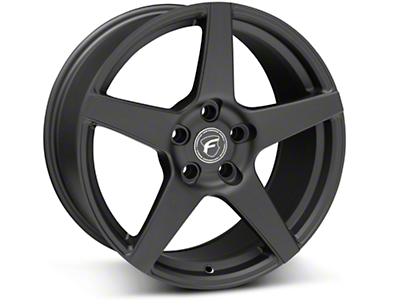 Matte Black Forgestar CF5 Monoblock Wheel - 18x9 (05-14 All)