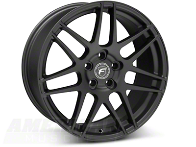Matte Black Forgestar F14 Monoblock Wheel - 19x9 (05-14 All)