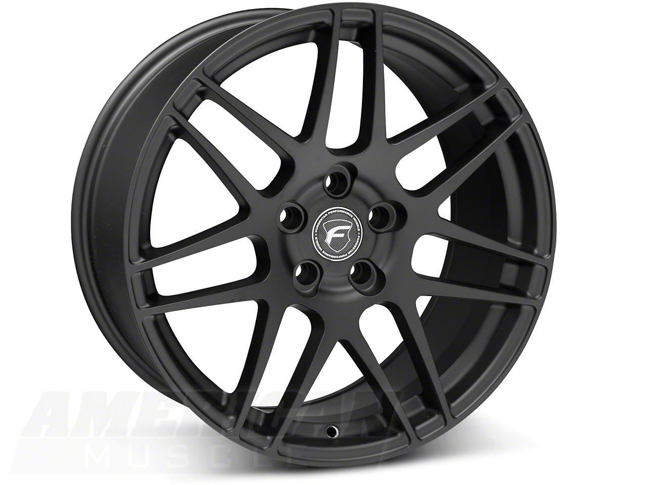 Forgestar F14 Monoblock Matte Black Wheel - 19x9 (05-14 All)