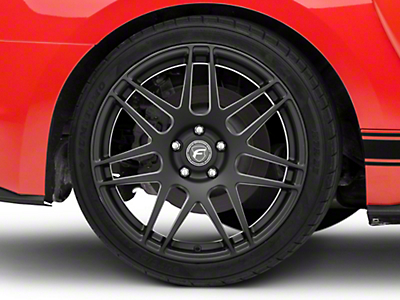 Matte Black Forgestar F14 Monoblock Wheel - 19x10 (05-14 All)